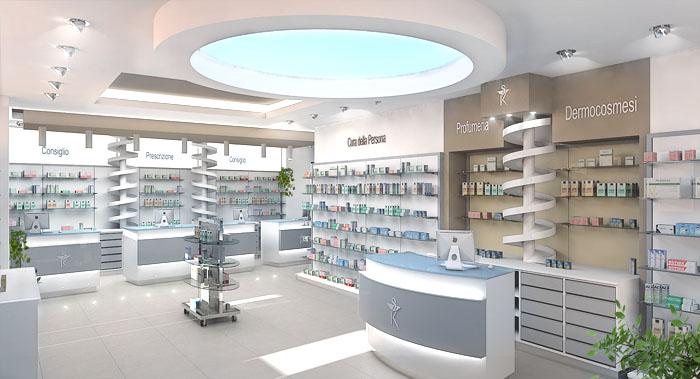 Dott sembenini afk arredamenti per farmacie e parafarmacie for Arredamenti farmacie